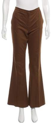 Burberry Mid-Rise Flared Pants