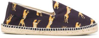 Manebi cheetah print espadrilles