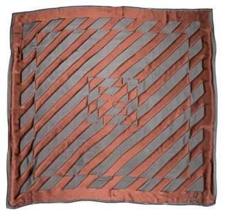 Fendi Zucca FF Logo Scarf