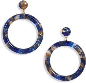 Lele Sadoughi Marquis Hoop Earrings