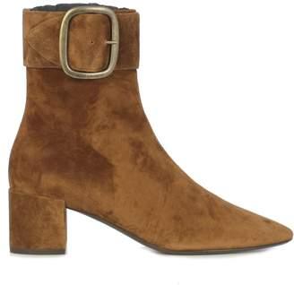 Saint Laurent Joplin 50 Buckle Ankle Boots