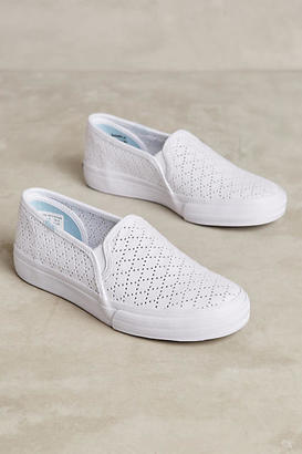 Keds Double Decker Perforated Sneakers $58 thestylecure.com