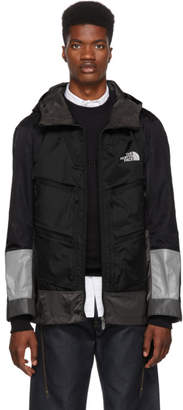 Junya Watanabe Black and Grey The North Face Edition Trail Pack Jacket
