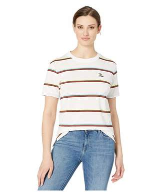 Lacoste Short Sleeve Relaxed Fit Striped T-Shirt