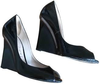 Casadei Black Patent leather Heels