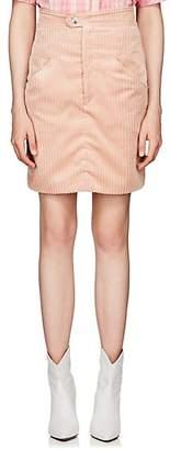 Isabel Marant Women's Marsh Corduroy Miniskirt - Pink