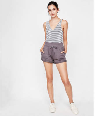 Express one eleven cotton cargo shorts