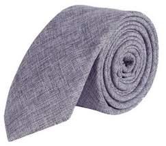 Burton Mens Purple Cotton Tie