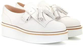 cc0804f169a8 Tod s Leather platform loafers