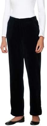 Factory Quacker Regular Velour Pants with Pockets