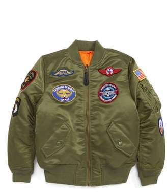 Alpha Industries MA-1 Patch Flight Jacket