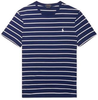 Polo Ralph Lauren Striped Cotton-Jersey T-Shirt