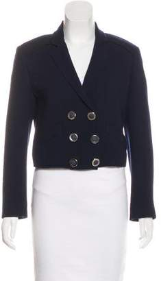 Fendi Wool Crop Blazer