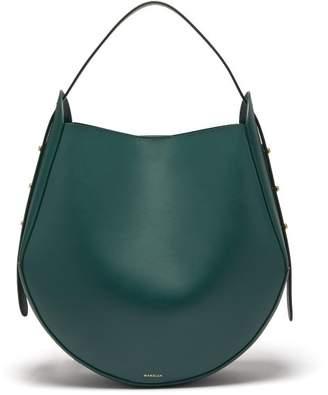 Wandler - Corsa Leather Tote - Womens - Dark Green