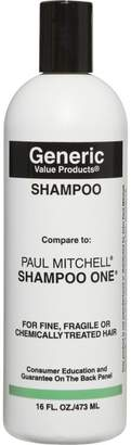 Paul Mitchell Generic Value Products Shampoo Compare to Shampoo One