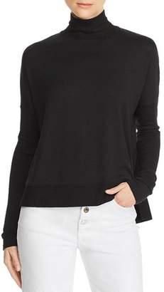 Rag & Bone Bowery Button-Back Turtleneck Sweater