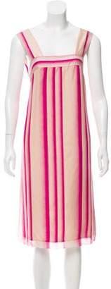 Dries Van Noten Silk Midi Dress