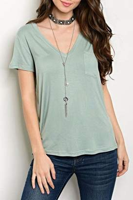 Shop The Trends Sage Green Tee $17 thestylecure.com