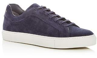 To Boot Men's Hendrick Perforated Suede Lace Up Sneakers