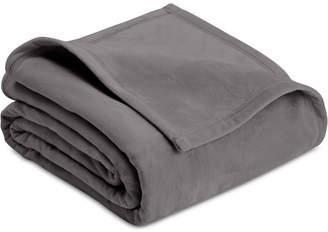 Vellux Plush Knit Full/Queen Blanket Bedding