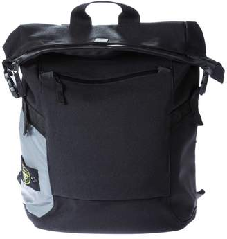 Stone Island Strapped Fold Over Backpack