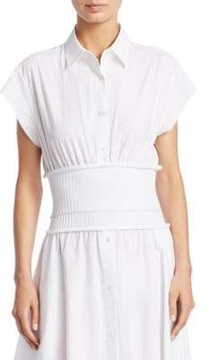 Alexander Wang Cotton Poplin Top