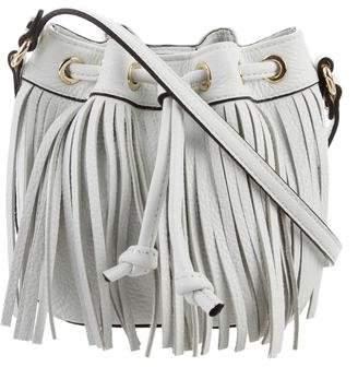 Rebecca Minkoff Lexi Fringed Micro Bucket Bag