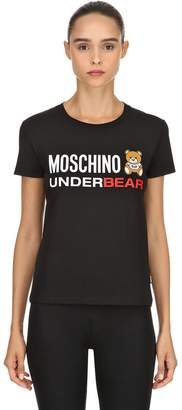 Moschino Underbear Cotton Jersey T-Shirt
