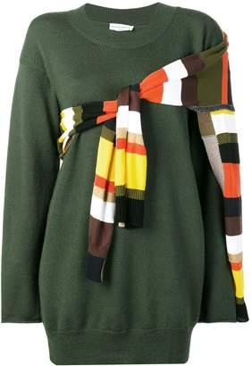 Sonia Rykiel striped detail jumper