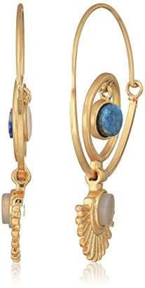Danielle Nicole Keyon Silver Hoop Earrings
