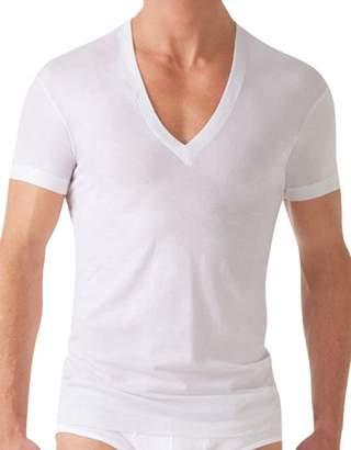 2xist Slim Fit Pima Deep V-Neck T-Shirt