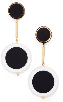Women's Kate Spade New York Connect The Dots Drop Earrings $68 thestylecure.com