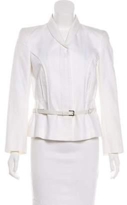 Salvatore Ferragamo Belted Structured Jacket w/ Tags