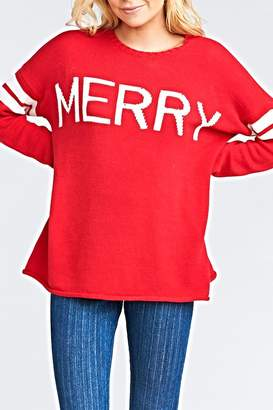 Show Me Your Mumu Varsity Sweater