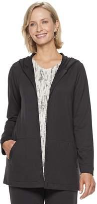Dana Buchman Women's Everyday Casual Hooded Jacket