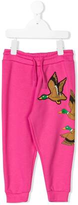 Mini Rodini duck jogging bottoms