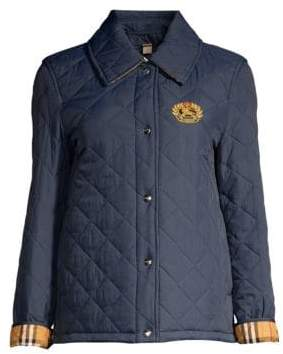 Burberry Frinton Boxy Quilted Jacket