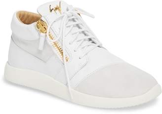 Giuseppe Zanotti Double Zip Trainer Sneaker