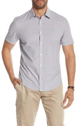 Original Penguin Patterned Short Sleeve Heritage Slim Fit Shirt