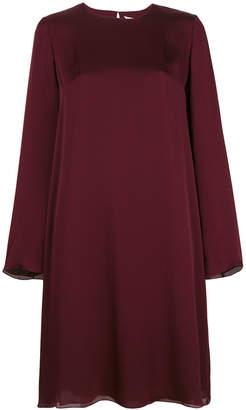 The Row long sleeve midi dress