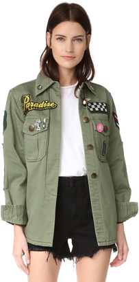 Marc Jacobs Padded Military Shirt $795 thestylecure.com