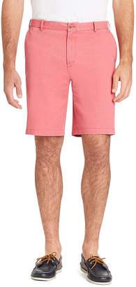 Izod Saltwater Stretch Shorts Mens Mid Rise Stretch Chino Short