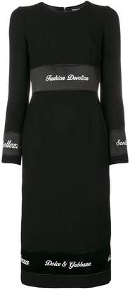 Dolce & Gabbana Fashion Devotion dress