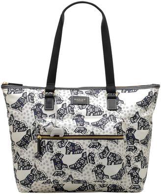 Radley Folk Dog Zip Top Tote Bag 10063