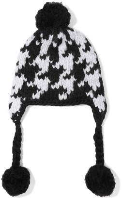 Eugenia Kim Pompom-embellished Wool Hat - Black