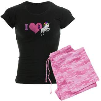 CafePress - I Love Unicorns - Womens Pajama Set