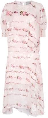 Preen Katy Floral Midi Dress