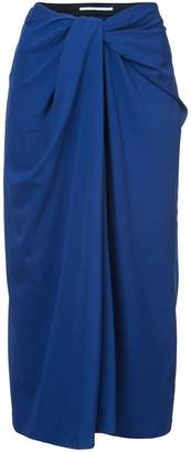 Rosetta Getty twist front skirt