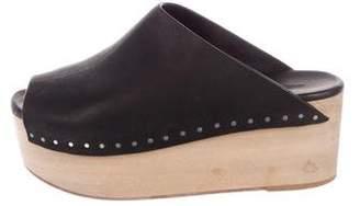 Rick Owens Peep-Toe Platform Sandals