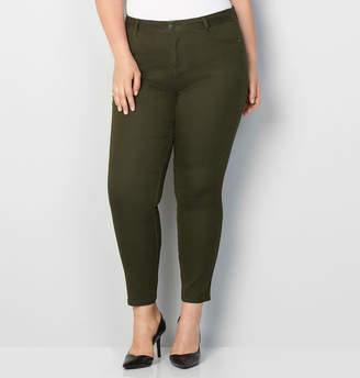 Avenue Butter Denim Skinny Jean in Olive